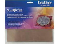 BROTHER CAEBSBMS1 hoja de metal color bronce