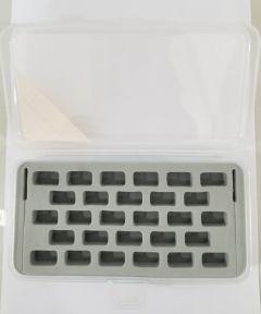 Organizador de carreteles caja plástica x 28
