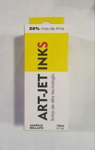 Tinta art jet 150ml yellow