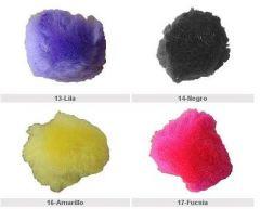 Pompones decorativos 25mm