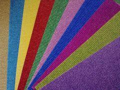Carton corrugado con gibre de colores