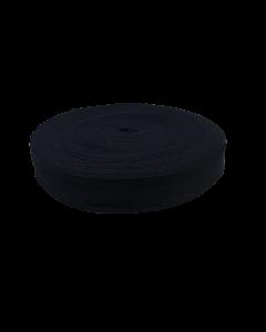 Cinta hilera 40mm negro x metro