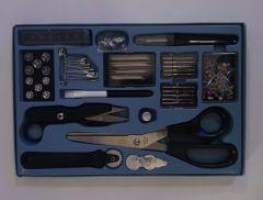 Set de costura costurero sewing kit azul