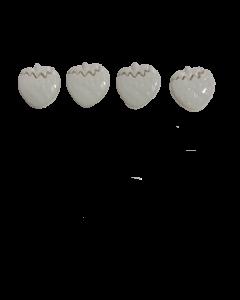 Botón frutilla 149-22 x 10 unidades