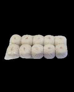 hilo algodón lonero 10 ovillos x 52mts